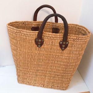 Vintage Original Straw Bag